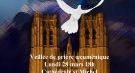 Bruxelles : Veillée de prière en la Cathédrale Saints-Michel et Gudule