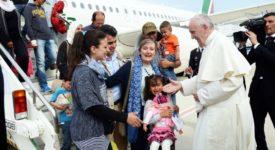 Le geste prophétique du pape