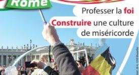 130 jeunes Belges à Rome