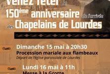 Lourdes : 150e anniversaire de l'arrivée des pères chapelains