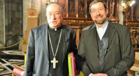 24 mai 2016 : conférence de presse avec le cardinal Oscar Rodriguez Maradiaga