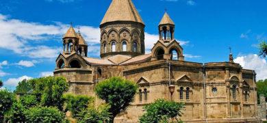 Armenie-cathédrale-apostolique Etchmiadzin