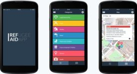 Une application mobile destinée aux réfugiés