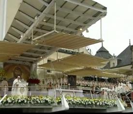 Pape à Cracovie