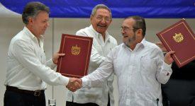 Colombie: la guerre avec les FARC bientôt finie