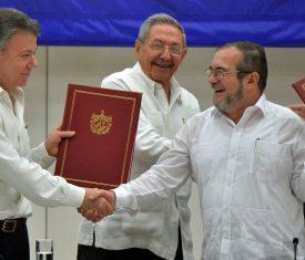 Accord de paix Colombie