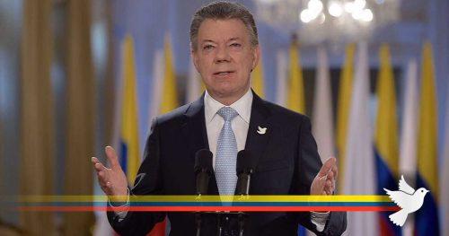 Président colombien TV