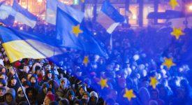 Ukraine manif pro-européenne