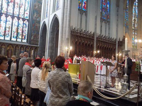 Célébration de la Fête Saint Lambert à la Cathédrale de Liège