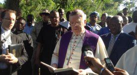 RDC : Le nonce apostolique à Béni