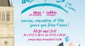 Les pèlerins des maïs: marche diocésaine des jeunes