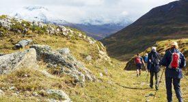 A pied sur le chemin d'Assise  – La traversée des Alpes