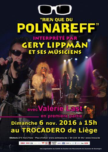 Concert Géry Lippman au Trocadero