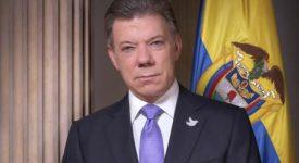 Le prix Nobel de la paix décerné au président colombien