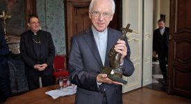 Le cardinal Jozef De Kesel en réunion de travail à l'évêché