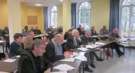 Retrouvailles annuelles entre prêtres français et belges