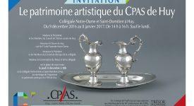 Expo du Patrimoine artistique des CPAS à Huy