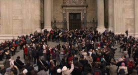Flashmob pour les chrétiens persécutés