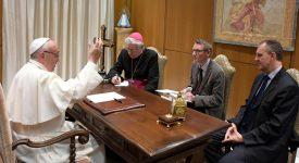 Une rencontre exceptionnelle avec le Pape François