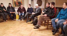 Taizé à Riga: le cardinal De Kesel auprès de jeunes Belges