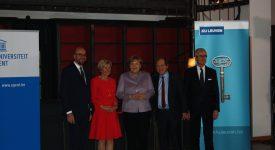 Angela Merkel docteur honoris causa de deux universités flamandes