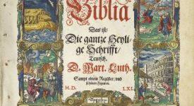 L'Année Luther en expo et conférences
