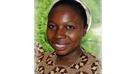 Soeur Céline Ntambwa prononcera ses voeux ce 26 février