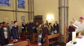 Tournai : le face-à-face entre des ados et leur évêque