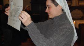 Liège : Sœur Charlotte-Bénédicte a fait profession solennelle