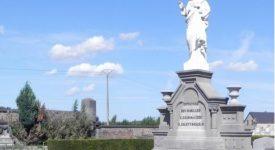 300 tombes profanées à Auvelais