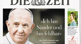 Le Pape à Die Zeit : «je ne suis pas un homme exceptionnel»