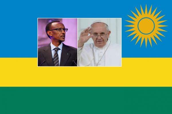Première visite du président rwandais au Vatican : le pape exprime la douleur de l'Eglise défigurée par le génocide