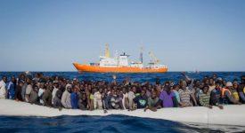 Le nombre de sauvetage de migrants explose en Méditerranée