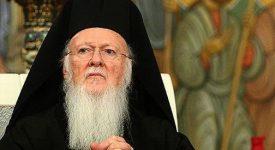 Le patriarche Bartholomée à Taizé le 25 avril