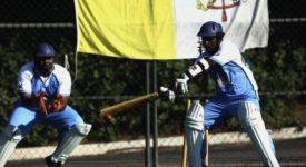 L'équipe nationale de cricket du Vatican en tournoi au Portugal