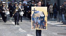 Mère Marie-Thérèse accueillie à la cathédrale de Liège