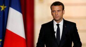 Le président Macron prend la défense des chrétiens d'Orient