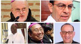 Le pape François annonce la création de cinq nouveaux cardinaux