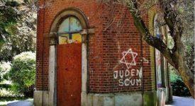 Tag antisémite dans un parc à Huy