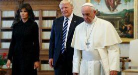 Echanges «cordiaux» entre le président Trump et le Saint-Siège