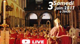 La Vigile de Pentecôte en direct sur YouTube