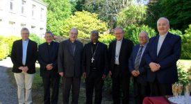 Le nonce apostolique en visite à l'évêché de Namur