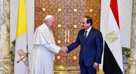 Voyage du pape en Egypte : «ami, messager de la paix et pèlerin»