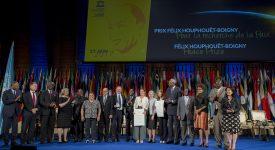 La crise migratoire au cœur de la cérémonie de remise du Prix Félix Houphouët-Boigny