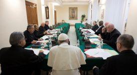 20e réunion du Conseil des cardinaux autour du pape