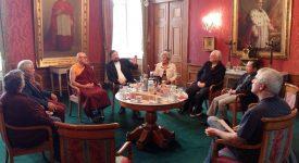 Mgr Delville a reçu une délégation bouddhiste