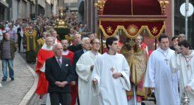 La Fête-Dieu à Liège, depuis 1246