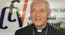 François soutient les évêques du Venezuela