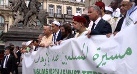 La Marche des musulmans s'est arrêtée à Bruxelles