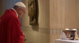 Le Père Hamel à l'honneur sur le compte Instagram du pape